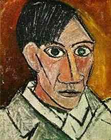 [Picasso, Selbstbildnis]